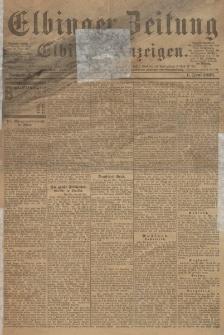 Elbinger Zeitung und Elbinger Anzeigen, Nr. 127 Sonnabend 1. Juni 1895