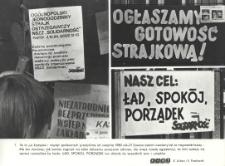 Postulaty i gotowość strajkowa z marca 1981 roku