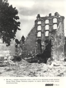 Ruiny Starego Miasta w Elblągu