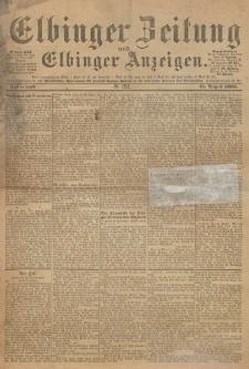 Elbinger Zeitung und Elbinger Anzeigen, Nr. 192 Sonnabend 17. August 1895