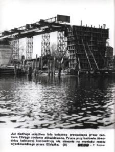 Most wysokowodny w Elblągu