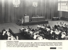IV Konferencja Sprawozdawczo-Wyborcza Wojewódzkiej Organizacji Partyjnej