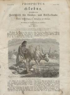 Globus. Illustrierte Zeitschrift für Länder...Bd. XIII, Nr.1, 1868 (mehrere Artikel)