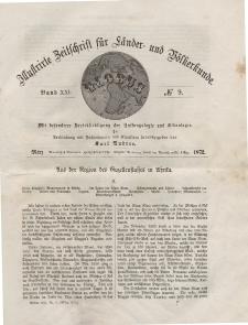 Globus. Illustrierte Zeitschrift für Länder...Bd. XXI, Nr.9, März 1872