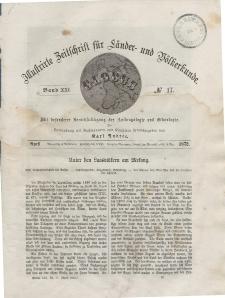 Globus. Illustrierte Zeitschrift für Länder...Bd. XXI, Nr.17, April 1872