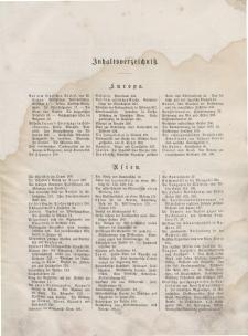 Globus. Illustrierte Zeitschrift für Länder...(Inhaltsverzeichniß), 1874