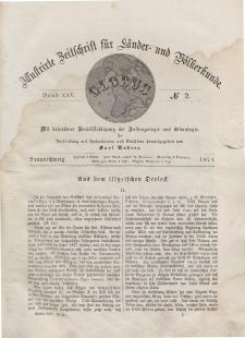 Globus. Illustrierte Zeitschrift für Länder...Bd. XXV, Nr.2, 1874