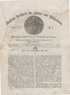 Globus. Illustrierte Zeitschrift für Länder...Bd. XXV, Nr.3, 1874