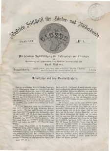 Globus. Illustrierte Zeitschrift für Länder...Bd. XXV, Nr.4, 1874