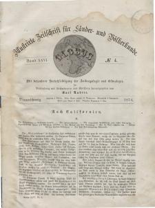 Globus. Illustrierte Zeitschrift für Länder...Bd. XXV, Nr.4 a, 1874