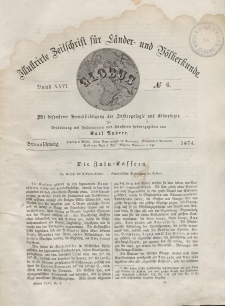 Globus. Illustrierte Zeitschrift für Länder...Bd. XXV, Nr.6, 1874