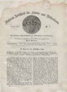 Globus. Illustrierte Zeitschrift für Länder...Bd. XXV, Nr.7, 1874
