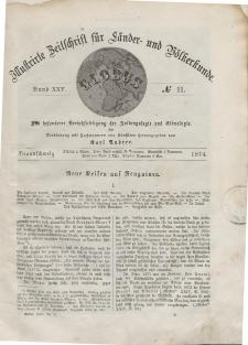 Globus. Illustrierte Zeitschrift für Länder...Bd. XXV, Nr.11, 1874