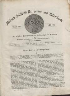 Globus. Illustrierte Zeitschrift für Länder...Bd. XXV, Nr.12, 1874