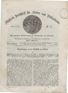 Globus. Illustrierte Zeitschrift für Länder...Bd. XXV, Nr.15, 1874