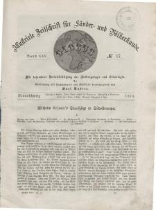 Globus. Illustrierte Zeitschrift für Länder...Bd. XXV, Nr.17, 1874