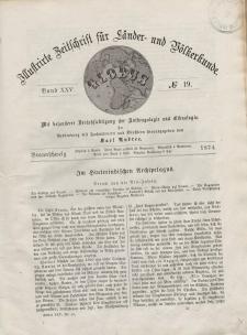 Globus. Illustrierte Zeitschrift für Länder...Bd. XXV, Nr.19, 1874
