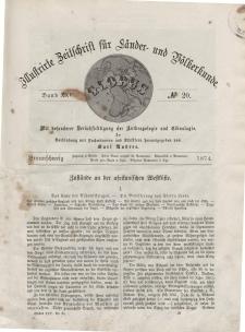 Globus. Illustrierte Zeitschrift für Länder...Bd. XXV, Nr.20, 1874