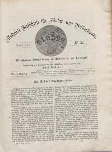 Globus. Illustrierte Zeitschrift für Länder...Bd. XXV, Nr.22, 1874