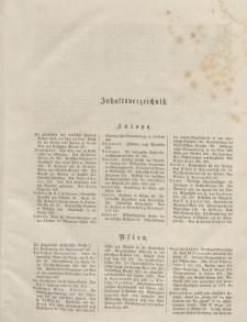Globus. Illustrierte Zeitschrift für Länder...(Inhaltsverzeichniß), Bd. XXX, 1876