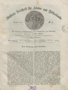 Globus. Illustrierte Zeitschrift für Länder...Bd. XXX, Nr.2, 1876