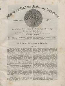 Globus. Illustrierte Zeitschrift für Länder...Bd. XXX, Nr.7, 1876