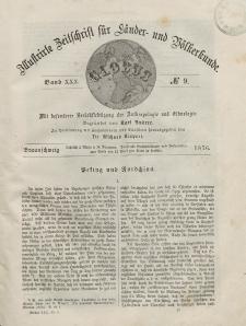 Globus. Illustrierte Zeitschrift für Länder...Bd. XXX, Nr.9, 1876