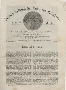 Globus. Illustrierte Zeitschrift für Länder...Bd. XXX, Nr.12, 1876
