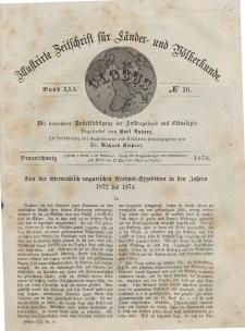 Globus. Illustrierte Zeitschrift für Länder...Bd. XXX, Nr.16, 1876