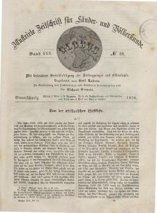 Globus. Illustrierte Zeitschrift für Länder...Bd. XXX, Nr.18, 1876