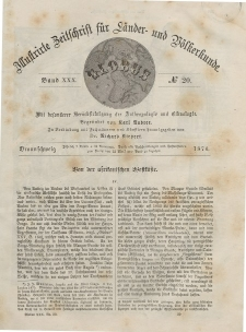 Globus. Illustrierte Zeitschrift für Länder...Bd. XXX, Nr.20, 1876