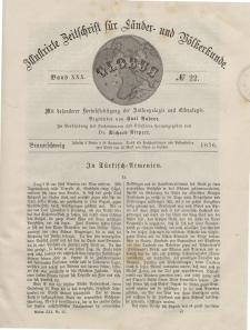 Globus. Illustrierte Zeitschrift für Länder...Bd. XXX, Nr.22, 1876