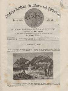Globus. Illustrierte Zeitschrift für Länder...Bd. XXX, Nr.23, 1876