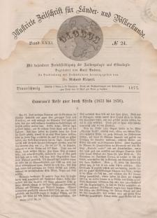 Globus. Illustrierte Zeitschrift für Länder...Bd. XXXI, Nr.24, 1877