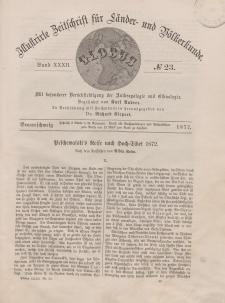 Globus. Illustrierte Zeitschrift für Länder...Bd. XXXII, Nr.23, 1877