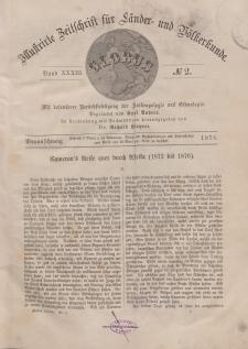 Globus. Illustrierte Zeitschrift für Länder...Bd. XXXIII, Nr.2, 1878