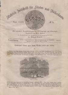 Globus. Illustrierte Zeitschrift für Länder...Bd. XXXIII, Nr.5, 1878