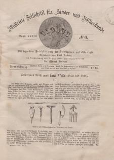 Globus. Illustrierte Zeitschrift für Länder...Bd. XXXIII, Nr.6, 1878