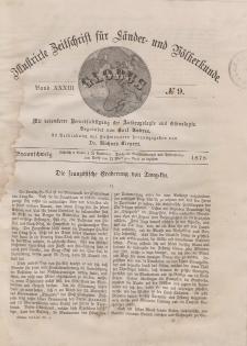 Globus. Illustrierte Zeitschrift für Länder...Bd. XXXIII, Nr.9, 1878