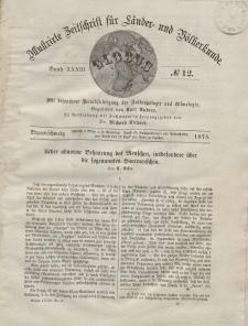 Globus. Illustrierte Zeitschrift für Länder...Bd. XXXIII, Nr.12, 1878