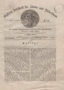 Globus. Illustrierte Zeitschrift für Länder...Bd. XXXIII, Nr.14, 1878