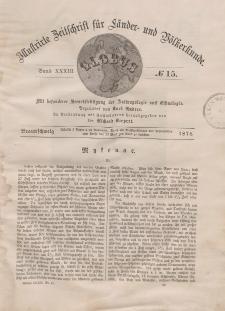 Globus. Illustrierte Zeitschrift für Länder...Bd. XXXIII, Nr.15, 1878