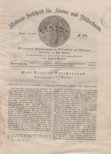 Globus. Illustrierte Zeitschrift für Länder...Bd. XXXIII, Nr.16, 1878