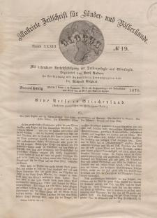 Globus. Illustrierte Zeitschrift für Länder...Bd. XXXIII, Nr.19, 1878