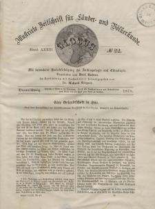 Globus. Illustrierte Zeitschrift für Länder...Bd. XXXIII, Nr.22, 1878