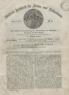 Globus. Illustrierte Zeitschrift für Länder...Bd. XXXV, Nr.4, 1879
