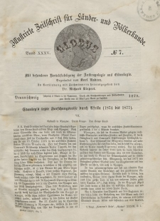 Globus. Illustrierte Zeitschrift für Länder...Bd. XXXV, Nr.7, 1879