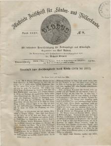 Globus. Illustrierte Zeitschrift für Länder...Bd. XXXV, Nr.8, 1879