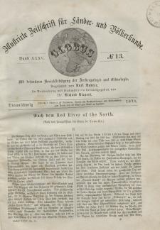 Globus. Illustrierte Zeitschrift für Länder...Bd. XXXV, Nr.13, 1879