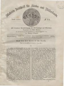 Globus. Illustrierte Zeitschrift für Länder...Bd. XXXV, Nr.15, 1879